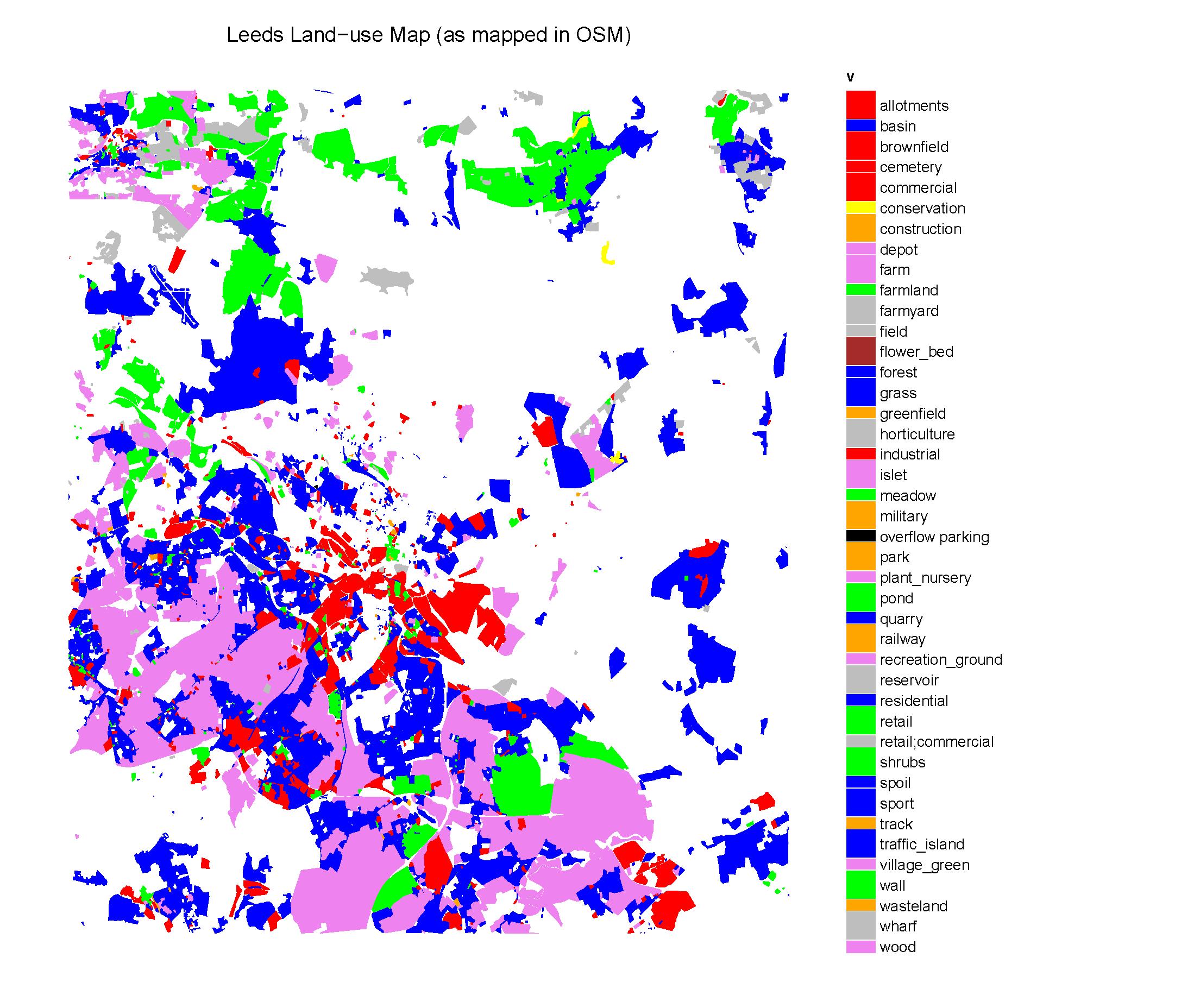 Leeds - Land Use Map - Draft