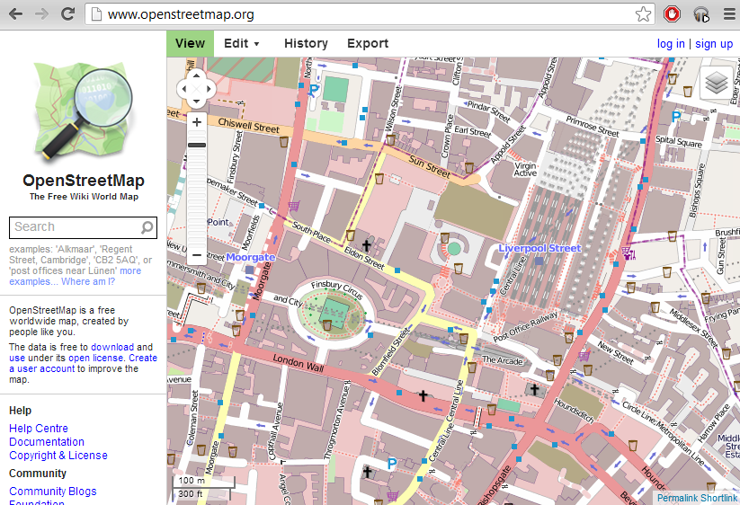 OSM-Screen Shot